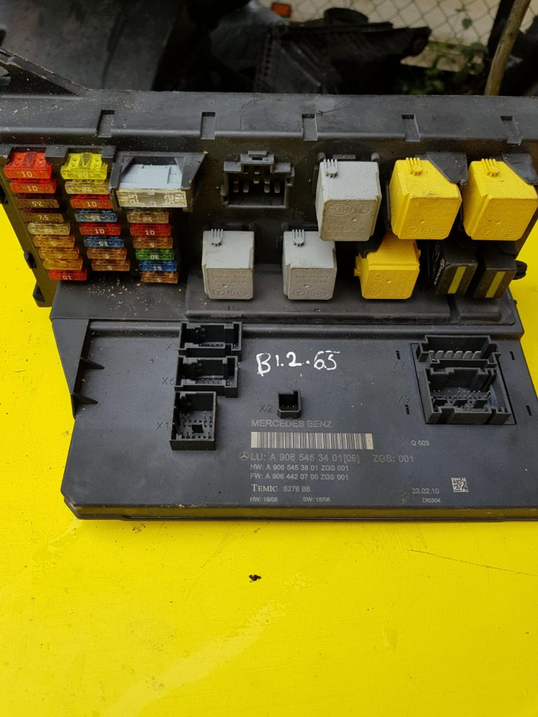 Mercedes Benz Sprinter Fuse Box Location