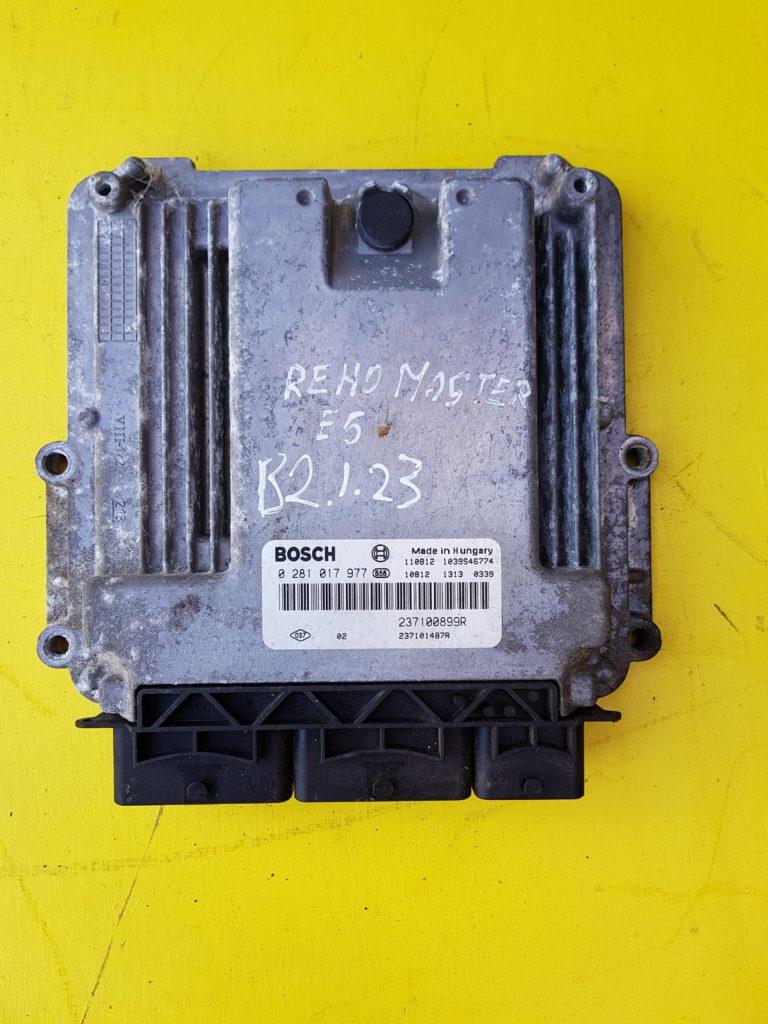 Renault Master 23 Dci Engine Ecu 237100899r 0281017977 B2123 Trafic Fuse Box